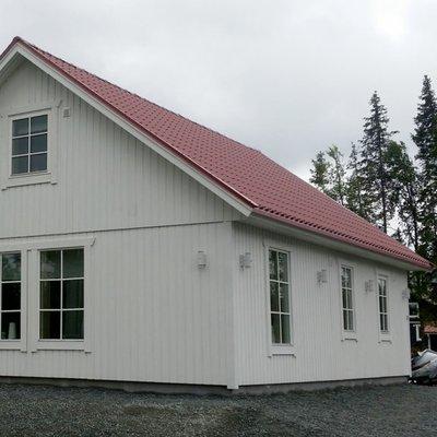 Fritidshus i 1,5-plan