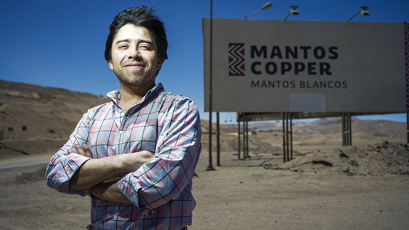 <p>Pablo Carrasco, purchasing superintendent at Mantos Copper.</p>
