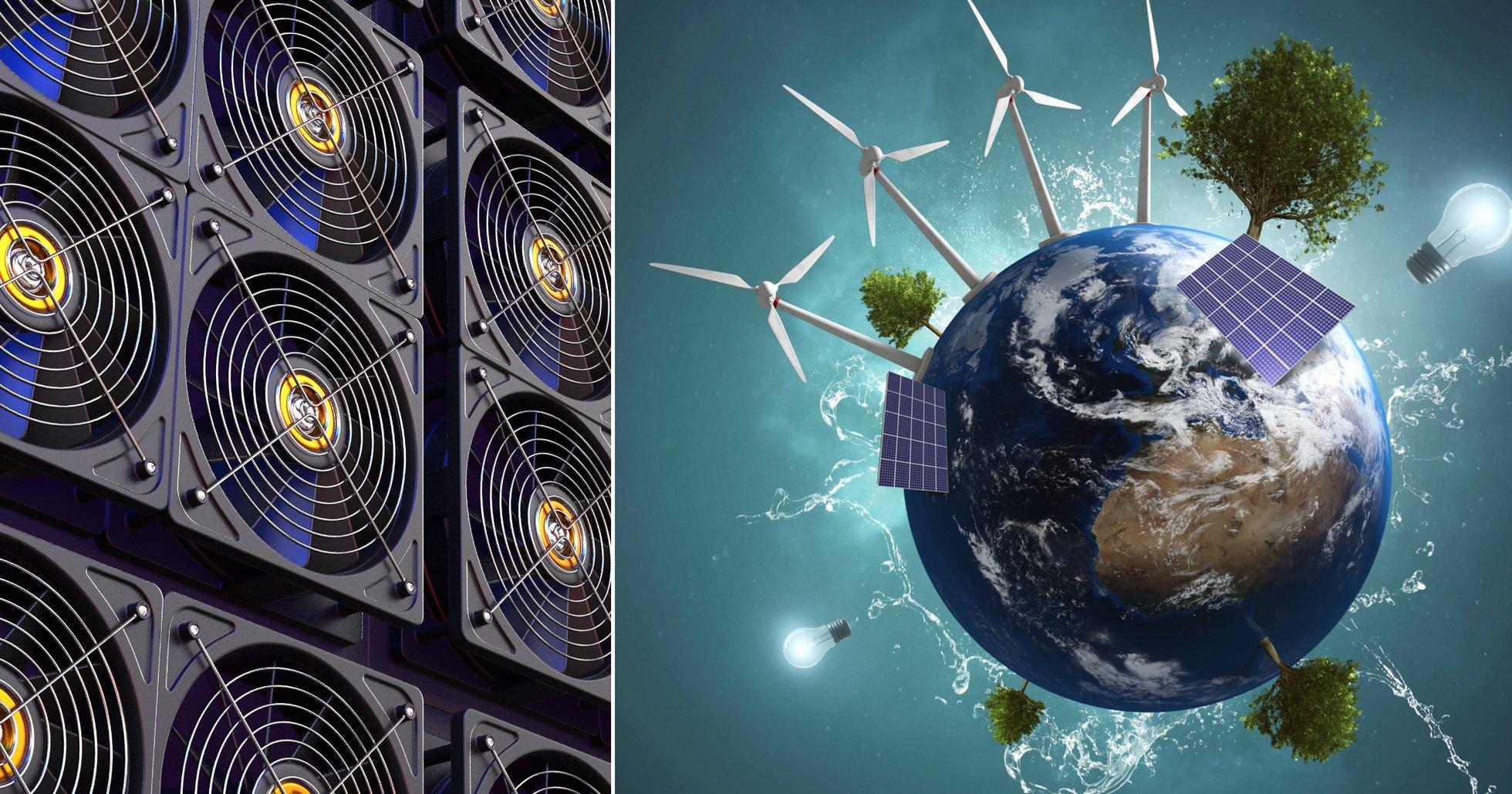 Studie visar att bitcoins klimatpåverkan är mycket mindre än man tidigare trott.