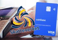 Varning! Coinbase betalkort kan bli ett rent h-vete att deklarera