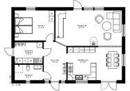 Se planritning för Villa Forsed
