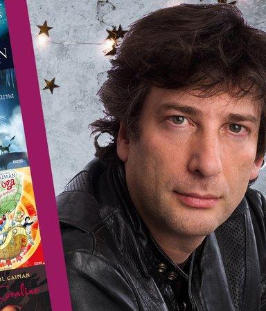 Neil Gaiman – författaren med rockstjärnestatus