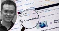 Binance's CEO tweets about Coinmarketcap – is met with criticism regarding bias