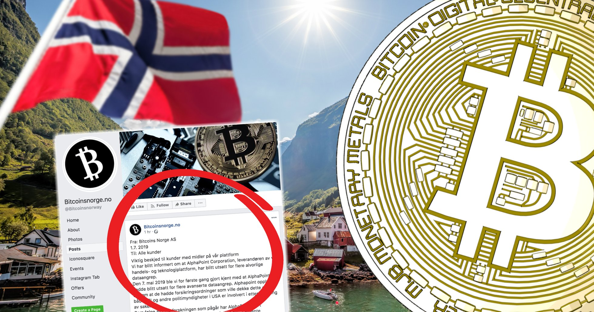 Norwegian crypto exchange wants to force users to sell their cryptocurrencies.