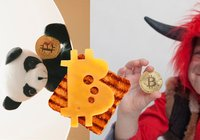 10 of the weirdest bitcoin images on Shutterstock