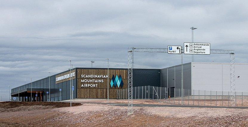 I december är det dags för invigning av Sälens nya flygplats, som förväntas generera många nya jobb i regionen.