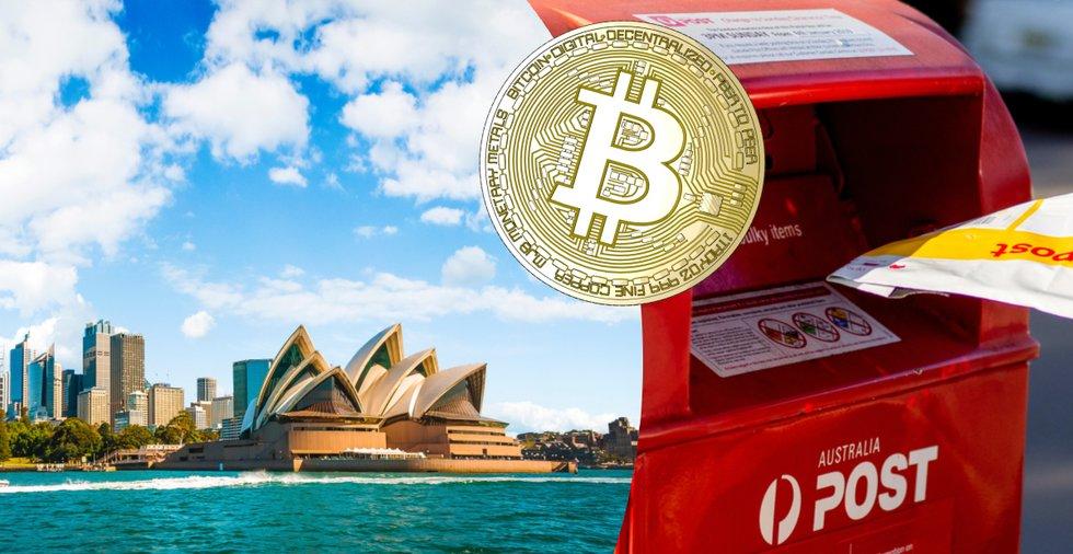 Efter nytt samarbete: Nu kan du köpa bitcoin på 3 500 australiska postkontor