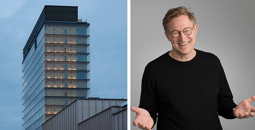 I dag öppnar The Wood Hotel by Elite. Hotelldirektör blir David Åberg.  Foto: Pressbilder