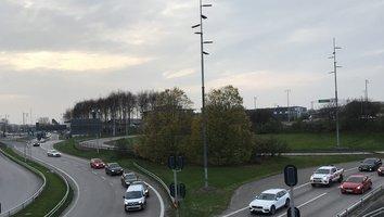 Nu öppnar avfarten mot E45 Karlstad i Gullbergsmotet