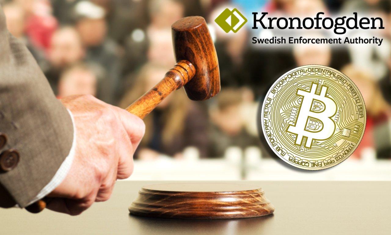 Kronofogden auktionerar ut bitcoin som aldrig förr