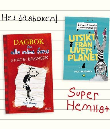 Kära dagbok! 6 barnböcker i dagboksformat