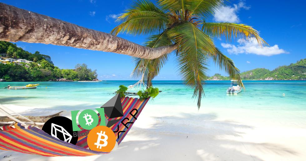 Calm crypto markets