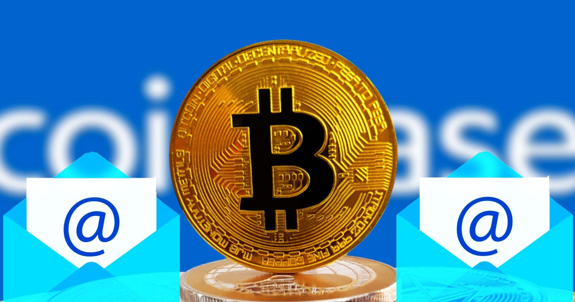 Coinbase nya patent låter användare skicka bitcoin via mejl