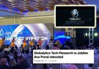 Misstänkta Jubilee Ace-bedragarna ligger bakom Globalytics Tech Research