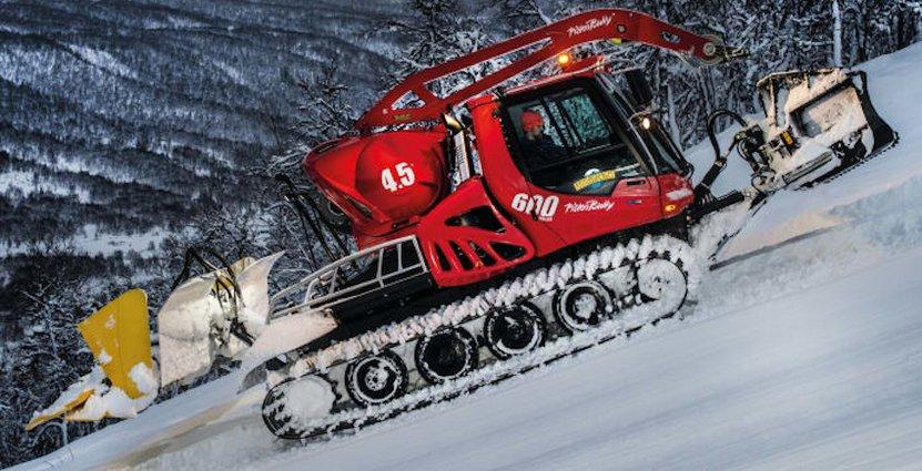 Ramundberget har fått dubbelt så mycket snö i år jämfört med tidigare säsonger – 150 centimeter. Och det har gjort att antalet gästnätter har ökat med åtta procent.