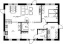 Se planritning för Villa Holmö