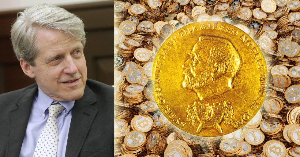 Ekonomipristagare: Jag funderar på att köpa bitcoin