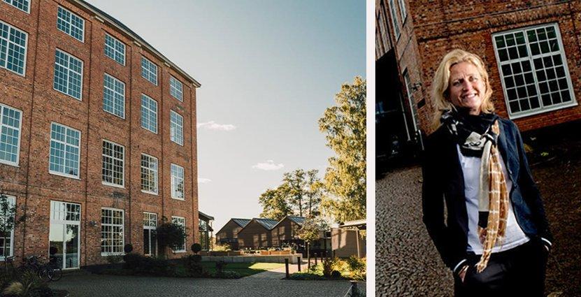 Tidigare förknippades Nääs Fabriker med fina byggnader, men nu med<br />  god mat och bra evenemang, säger vd Linda Pettersson. Foto: Nääs Fabriker