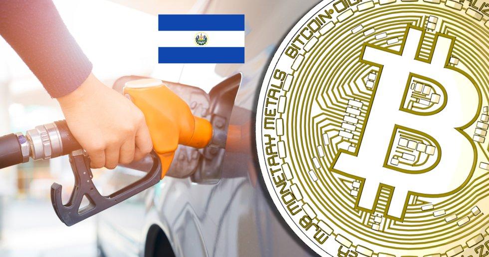 El Salvador sänker bensinpriset – för folk som betalar med bitcoin