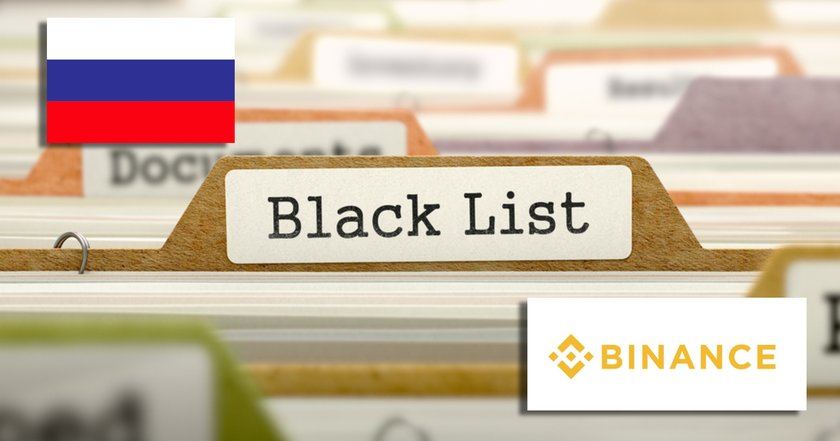 Binance svartlistade av rysk telekommyndighet – påstås sprida förbjuden information