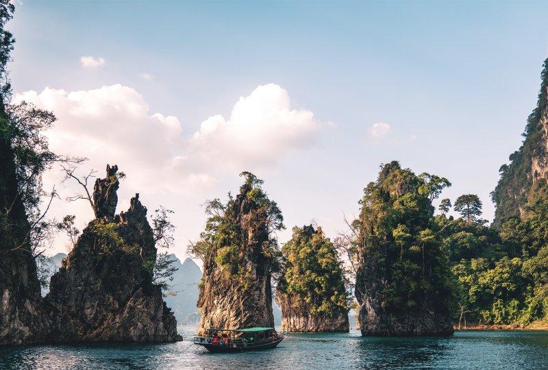 Små öar i tropikerna