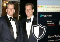 Winklevoss twins' crypto exchange offers insurance to its customers