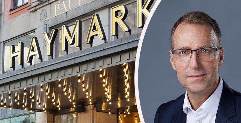 Scandics Hotels Groups nye vd och koncernchef Jens Mathiesen<br />  tror på öppet och tydligt ledarskap. Foto: Scandic