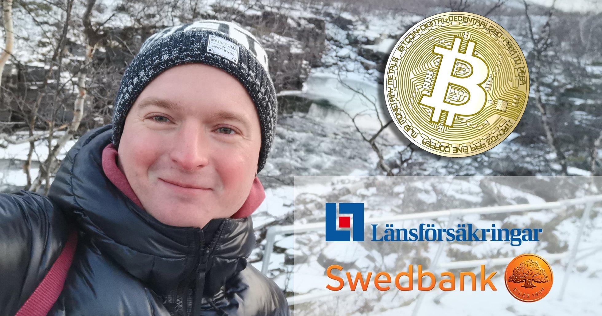 Banken sa nej till kryptoköp – då skrev Felix, 30, brev till Finansdepartementet