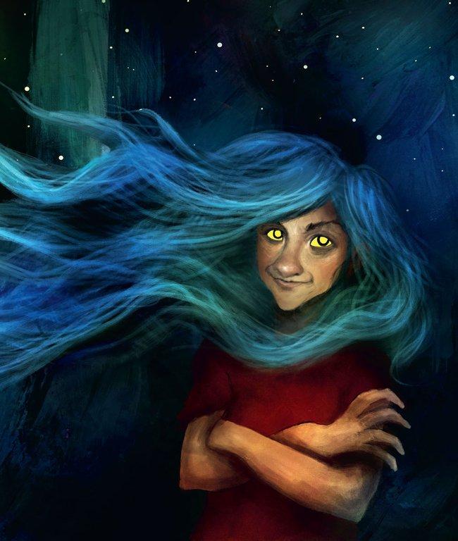 Illustration av Alexander Jansson, ur Hej alla monster!