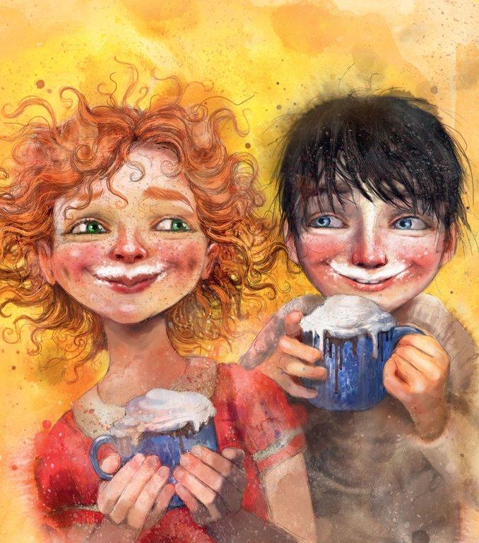 Illustration av Lisa Aisato, ur