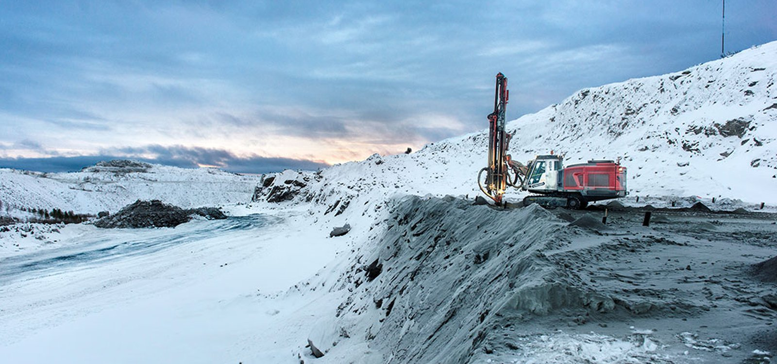 There's plenty of high-quality iron ore under Finnmark in Arctic Norway, but extracting it profitably is challenging.