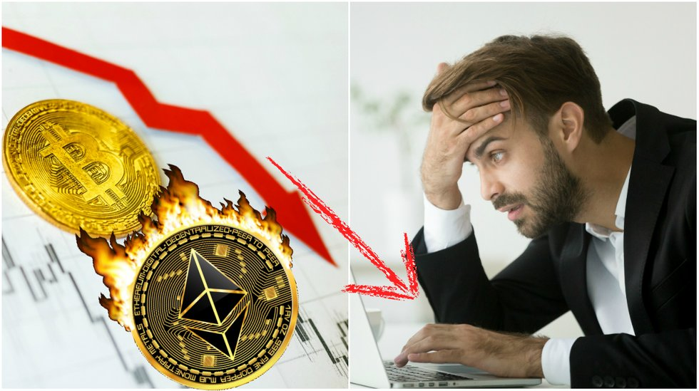 Daily crypto: Bloodbath in the markets – ethereum falls more than 10 percent.
