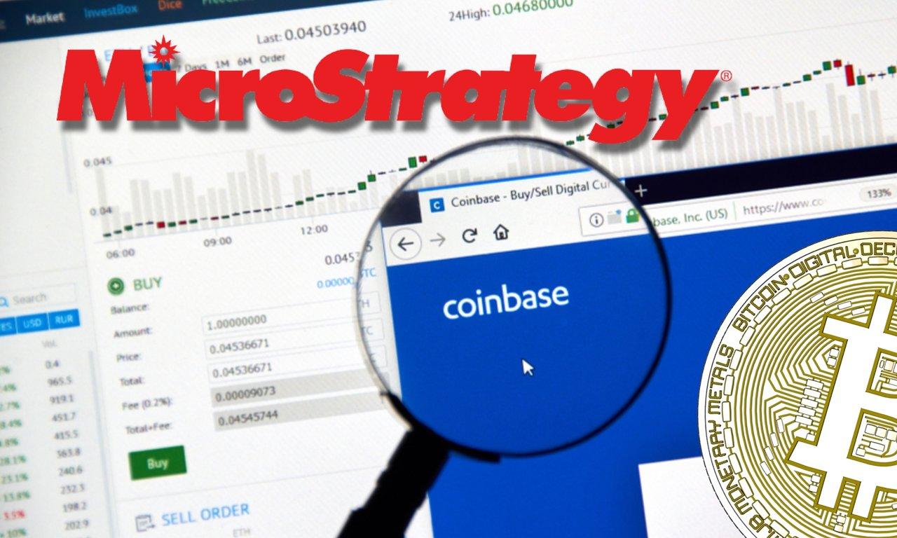 Så genomförde Coinbase it-bolaget Microstrategys miljardköp av bitcoin