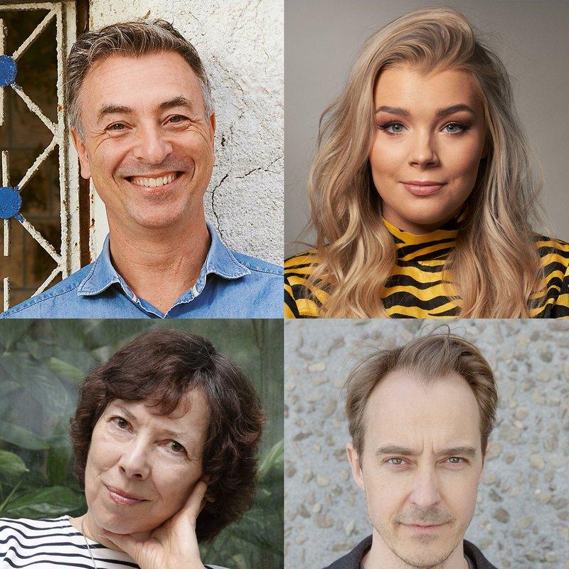 Här är författarna som sommarpratar 2021