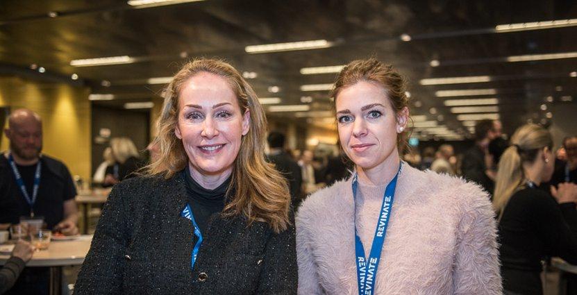 Tina Kalpa och Ida Engström, Best Western Plus Time Hotel, bokade in sig på workshops i seminarieappen i sista stund.