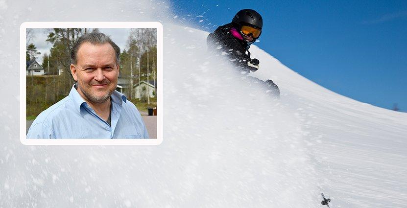 Torbjörn Wallin, vd för Himmelfjäll, ser fram emot årets skidsäsong.  Foto: Colourbox/Idre Himmelfjäll
