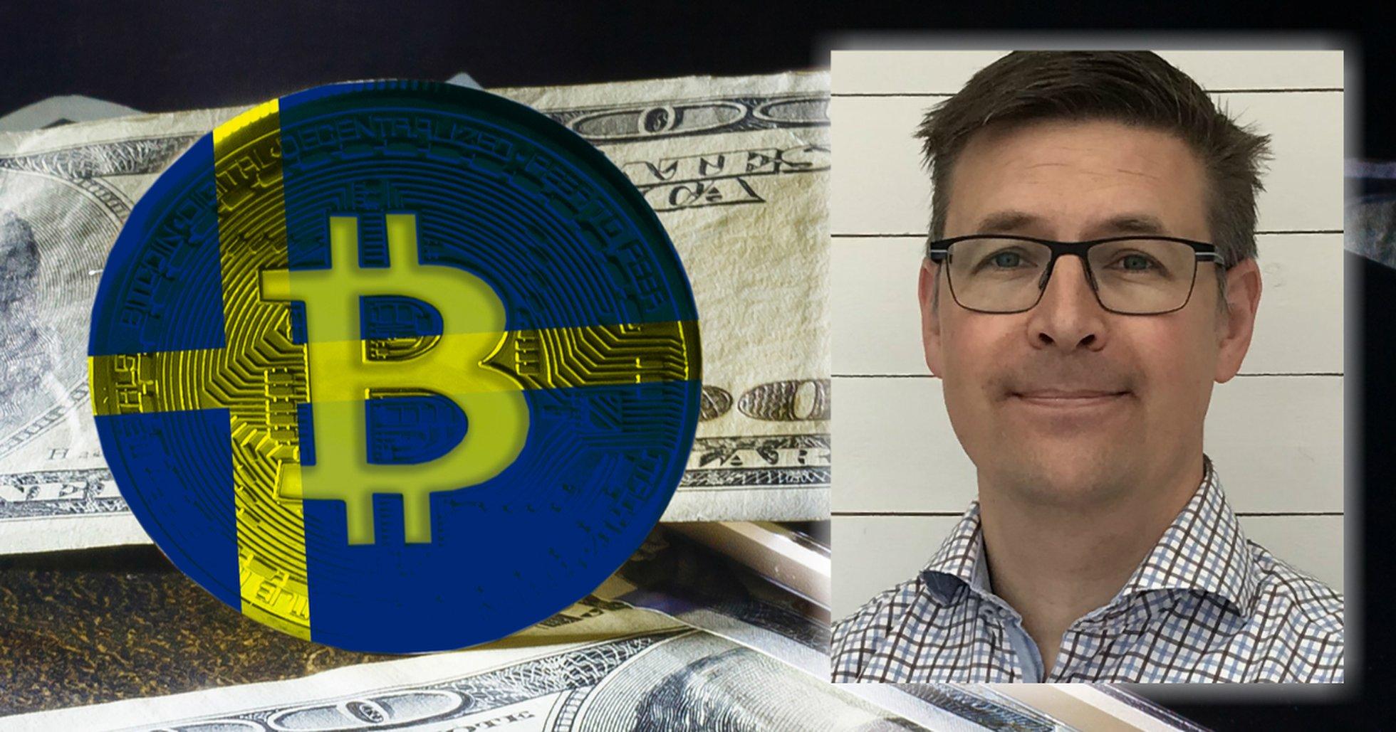 Svenska bitcoinföreningens nya ordförande: Katastrof om bitcoin förbjuds i Sverige.