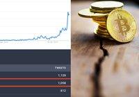 Antalet googlesökningar efter bitcoins halvering når sin högsta nivå någonsin