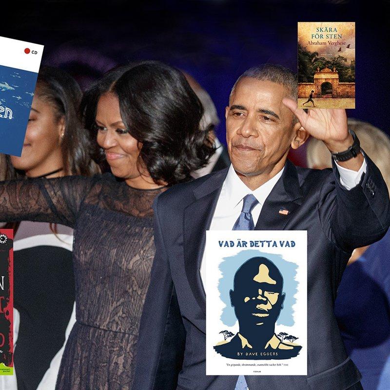 Paret Obamas bästa läsning – vi har favoriterna!