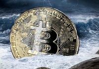 Bitcoinpriset under 10 000 dollar – har sjunkit 31 procent på två veckor
