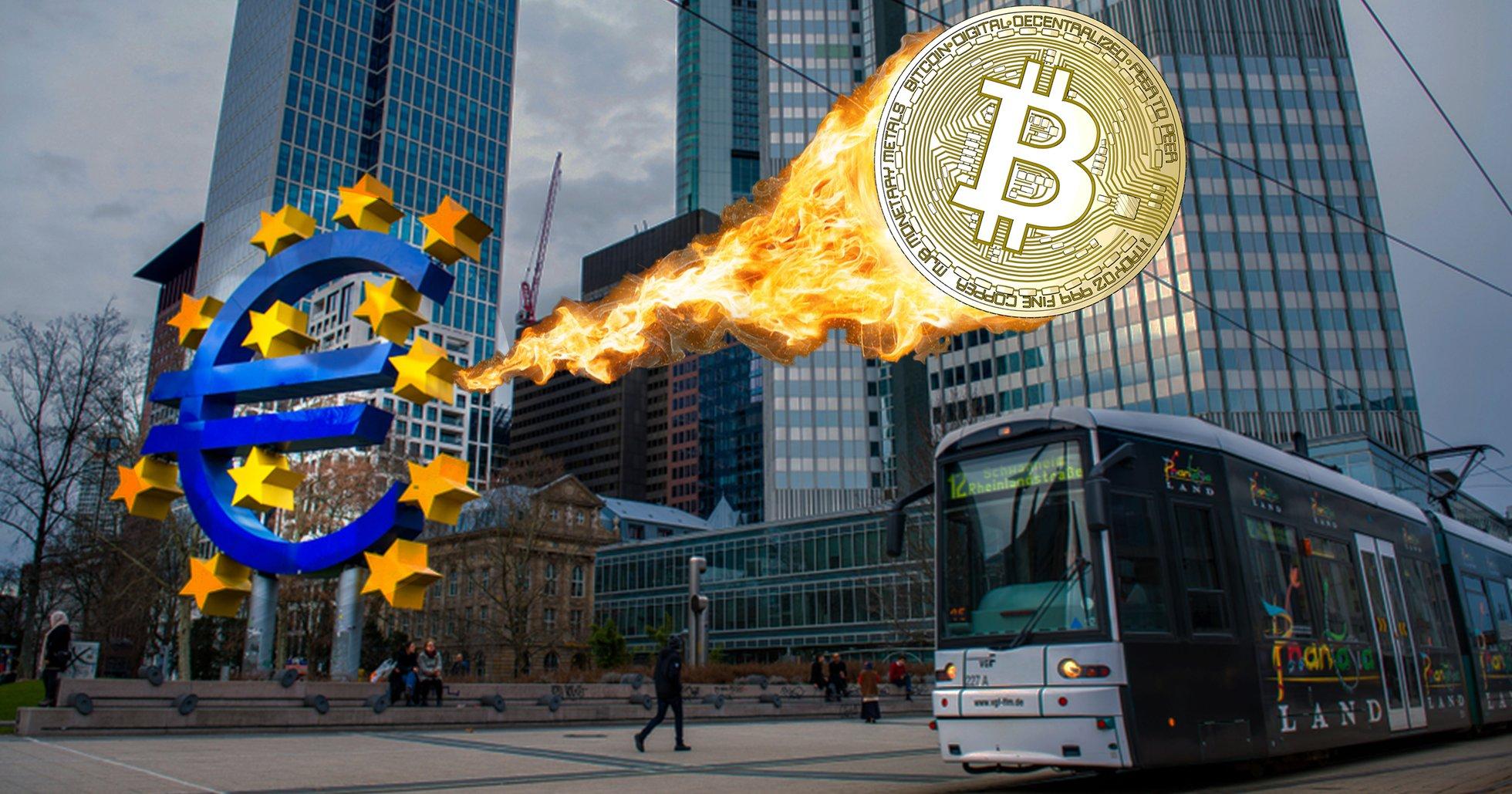 Europeiska centralbanken till attack mot bitcoin –