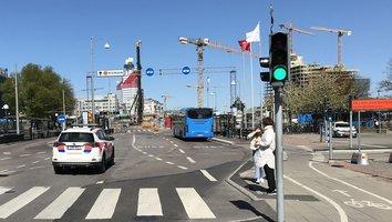 Trafikförändringar vid Nils Ericsonsgatan