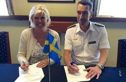 Försvarsmakten och besöksnäringen skrev under på samarbete