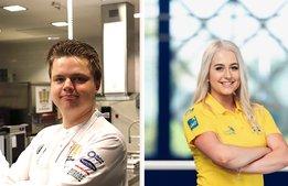 """Yrkes-VM-servitrisen Jolanda Edvardsson: """"Man vill ju vara bäst"""""""
