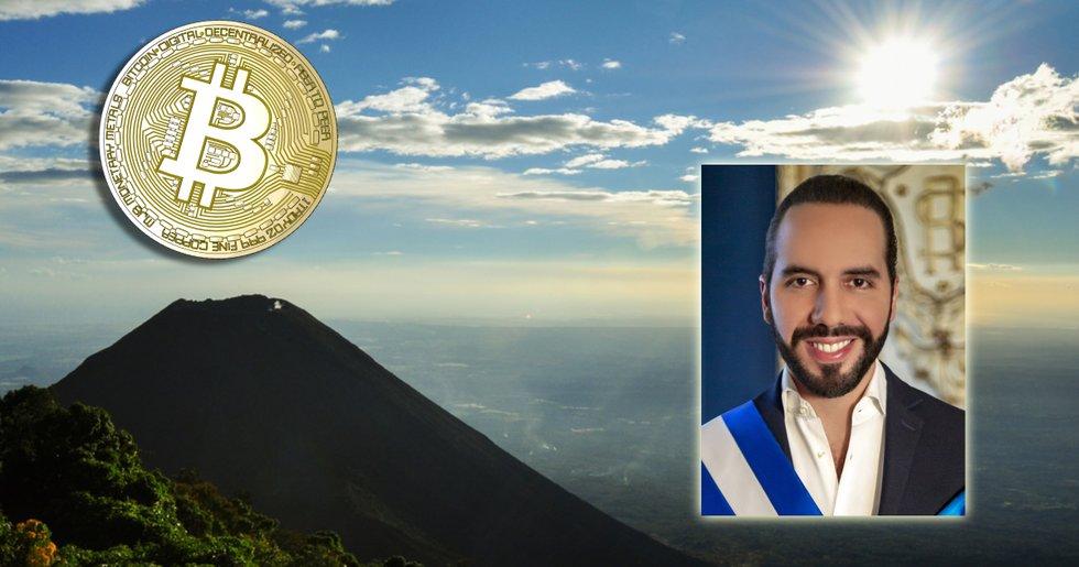 El Salvador ska utvinna bitcoin med förnyelsebar vulkanenergi