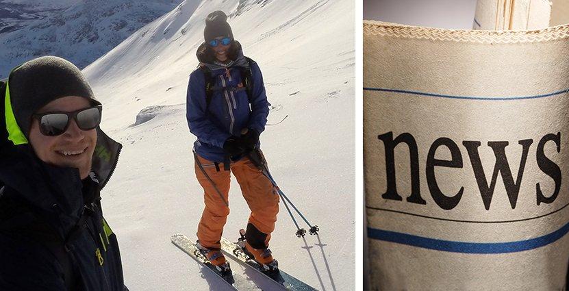 Efter att ha besökt Jämtland omnämner nu tidningen the Guardian Östersund som en vinterstad värd att åka till.