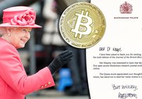 Queen Elizabeth II shows an interest in blockchain technology