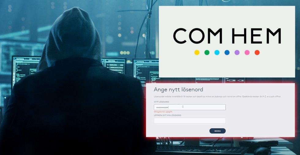 Så enkelt hackas ditt Com Hem-konto – allvarlig säkerhetslucka avslöjad