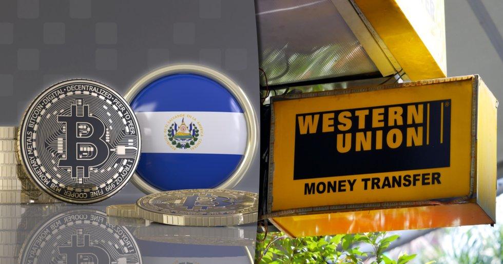 El Salvadors bitcoinlag kan bli dyr affär för Western Union