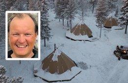 Arktisk camping lockar gäster från NY och Singapore